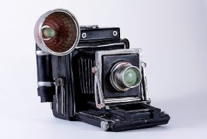 Old-fashioned camera