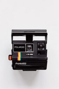 Polaroid camera from the '90s
